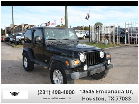 2003 Jeep Wrangler for sale in Houston, TX