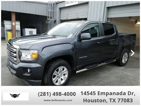 2017 GMC Canyon for sale in Houston, TX