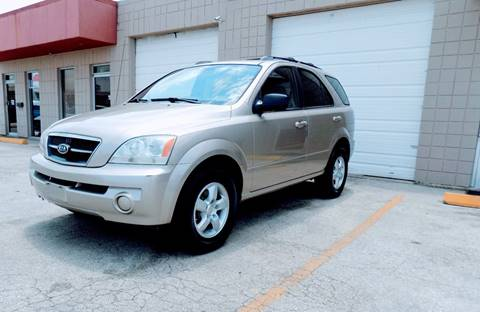 2006 Kia Sorento for sale at CTN MOTORS in Houston TX