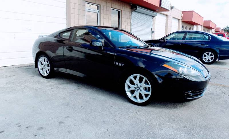 2008 Hyundai Tiburon for sale at CTN MOTORS in Houston TX