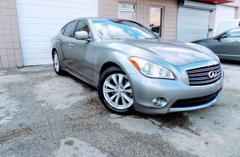 2011 Infiniti M37 for sale at CTN MOTORS in Houston TX