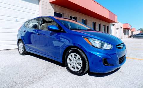 2014 Hyundai Accent for sale at CTN MOTORS in Houston TX