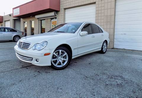 2007 Mercedes-Benz C-Class for sale at CTN MOTORS in Houston TX