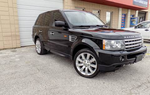 2008 Land Rover Range Rover Sport for sale at CTN MOTORS in Houston TX