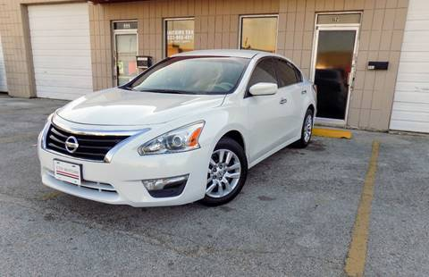 2013 Nissan Altima for sale at CTN MOTORS in Houston TX