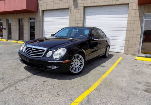 2007 Mercedes-Benz E-Class for sale at CTN MOTORS in Houston TX