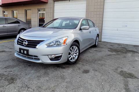 2015 Nissan Altima for sale at CTN MOTORS in Houston TX