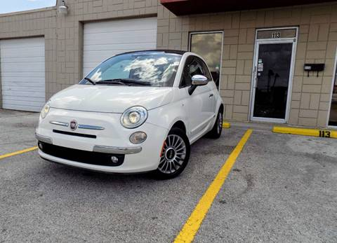 2012 FIAT 500c for sale at CTN MOTORS in Houston TX