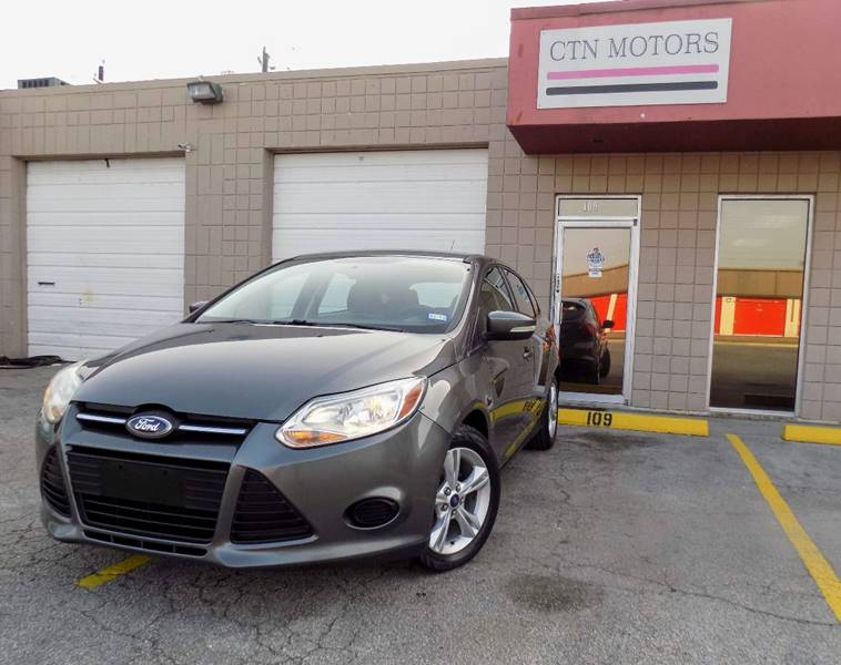 2013 Ford Focus for sale at CTN MOTORS in Houston TX
