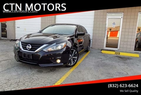 2016 Nissan Altima for sale at CTN MOTORS in Houston TX