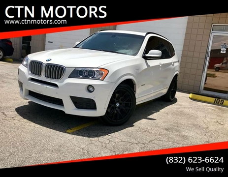 2014 BMW X3 for sale at CTN MOTORS in Houston TX