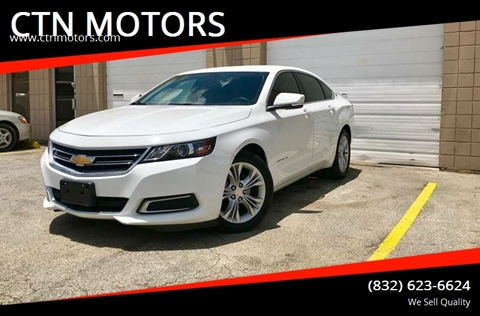 2015 Chevrolet Impala for sale at CTN MOTORS in Houston TX
