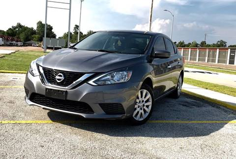2016 Nissan Sentra for sale at CTN MOTORS in Houston TX