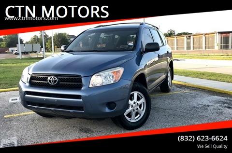 2006 Toyota RAV4 for sale at CTN MOTORS in Houston TX