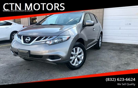 2011 Nissan Murano for sale at CTN MOTORS in Houston TX