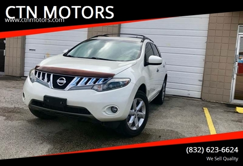 2010 Nissan Murano for sale at CTN MOTORS in Houston TX