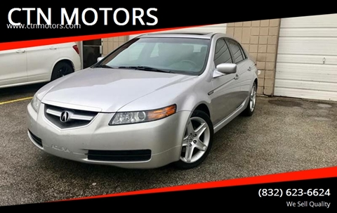 2006 Acura TL for sale at CTN MOTORS in Houston TX