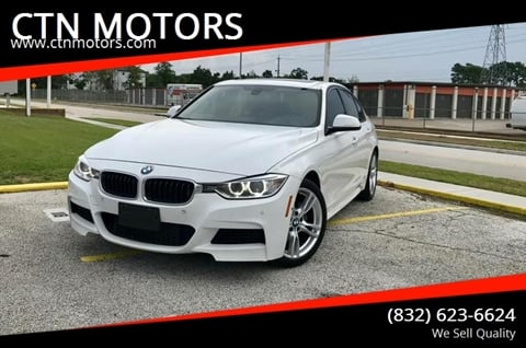 2013 BMW 3 Series for sale at CTN MOTORS in Houston TX