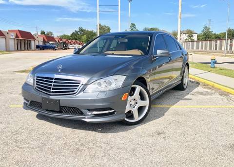 2011 Mercedes-Benz S-Class for sale at CTN MOTORS in Houston TX