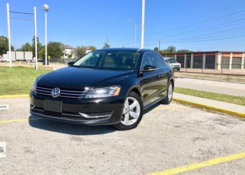 2012 Volkswagen Passat for sale at CTN MOTORS in Houston TX