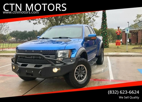 2010 Ford F-150 for sale at CTN MOTORS in Houston TX