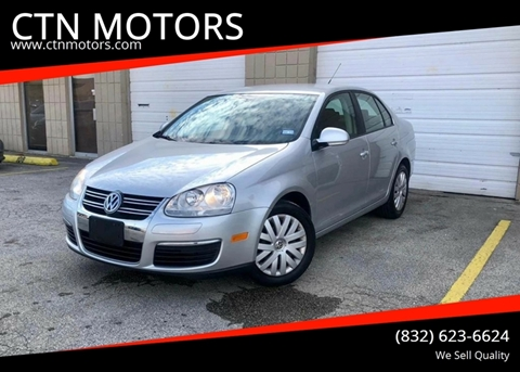 2010 Volkswagen Jetta for sale at CTN MOTORS in Houston TX