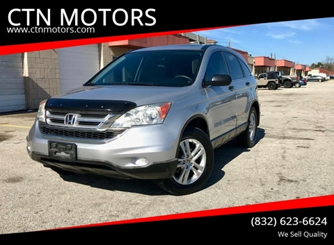 2011 Honda CR-V for sale at CTN MOTORS in Houston TX