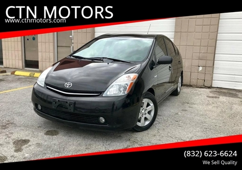 2007 Toyota Prius for sale at CTN MOTORS in Houston TX