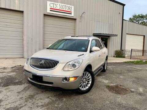 2012 Buick Enclave for sale at CTN MOTORS in Houston TX