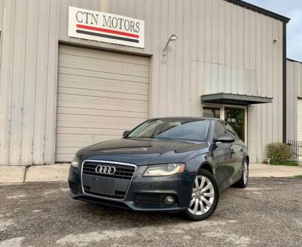2011 Audi A4 for sale at CTN MOTORS in Houston TX