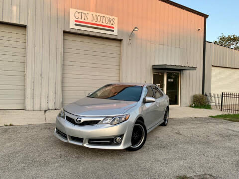 2013 Toyota Camry for sale at CTN MOTORS in Houston TX