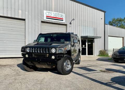 2005 HUMMER H2 for sale at CTN MOTORS in Houston TX