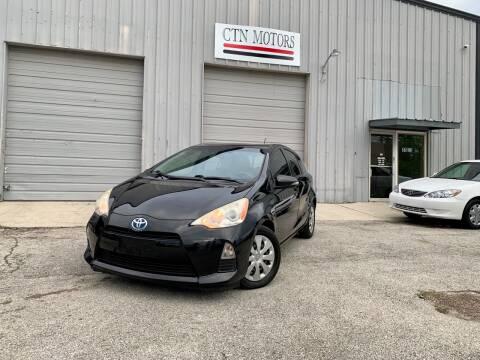 2012 Toyota Prius c for sale at CTN MOTORS in Houston TX