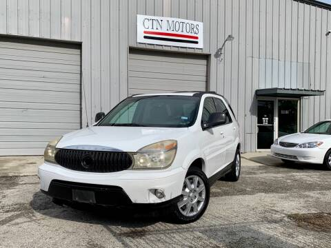 2006 Buick Rendezvous for sale at CTN MOTORS in Houston TX
