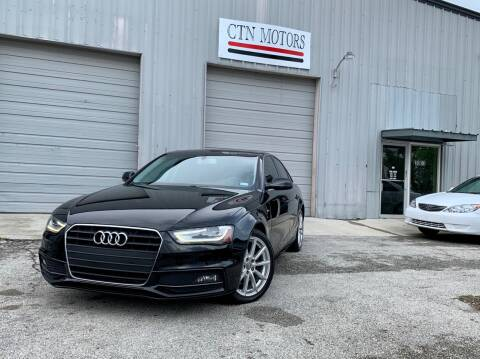 2014 Audi A4 for sale at CTN MOTORS in Houston TX
