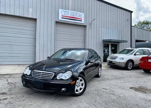 2006 Mercedes-Benz C-Class for sale at CTN MOTORS in Houston TX
