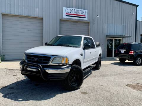 2003 Ford F-150 for sale at CTN MOTORS in Houston TX