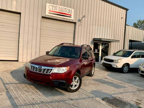 2011 Subaru Forester for sale at CTN MOTORS in Houston TX