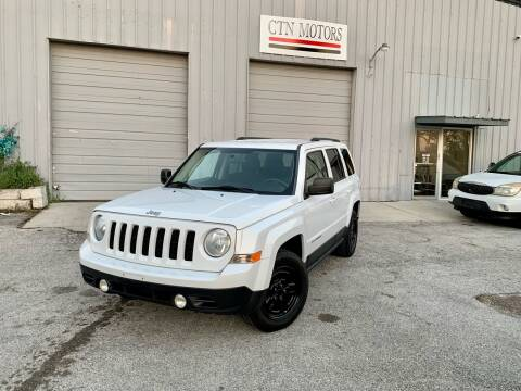 2012 Jeep Patriot for sale at CTN MOTORS in Houston TX