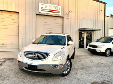 2011 Buick Enclave for sale at CTN MOTORS in Houston TX
