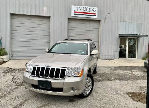 2008 Jeep Grand Cherokee for sale at CTN MOTORS in Houston TX