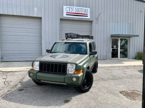 2007 Jeep Commander for sale at CTN MOTORS in Houston TX