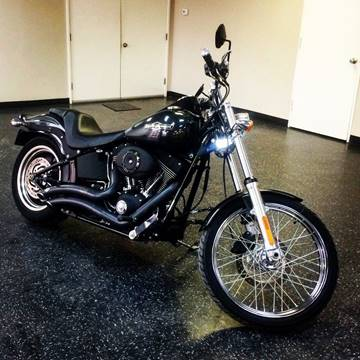 2009 Harley-Davidson FXSTB for sale at CTN MOTORS in Houston TX