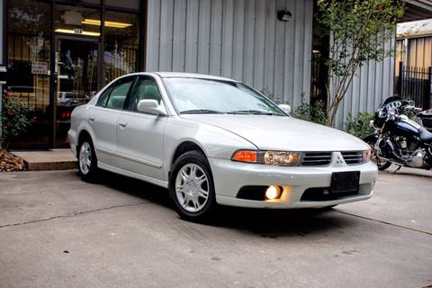 2002 Mitsubishi Galant for sale at CTN MOTORS in Houston TX