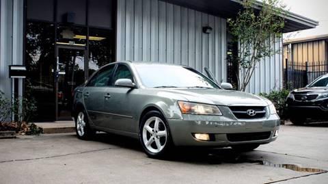 2007 Hyundai Sonata for sale at CTN MOTORS in Houston TX