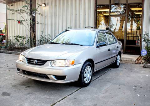 2001 Toyota Corolla for sale at CTN MOTORS in Houston TX