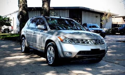 2003 Nissan Murano for sale at CTN MOTORS in Houston TX