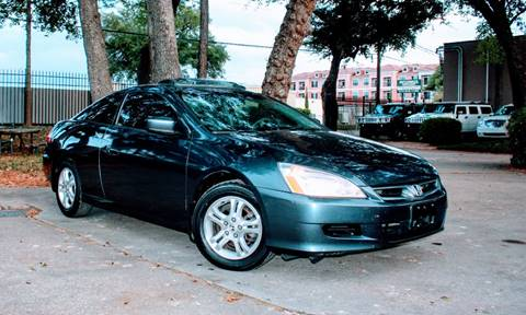 2006 Honda Accord for sale at CTN MOTORS in Houston TX
