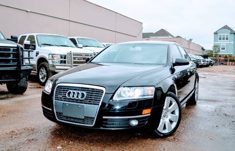 2005 Audi A6 for sale in Houston, TX