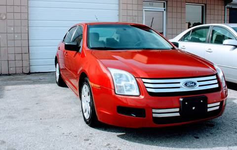 2008 Ford Fusion for sale at CTN MOTORS in Houston TX
